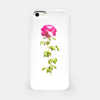 Miniature de image de Pink Rose Photo iPhone Case, Live Heroes