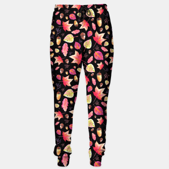 Thumbnail image of Watercolor Autumn Pattern Sweatpants, Live Heroes