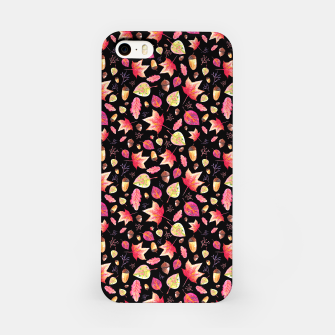 Thumbnail image of Watercolor Autumn Pattern iPhone Case, Live Heroes