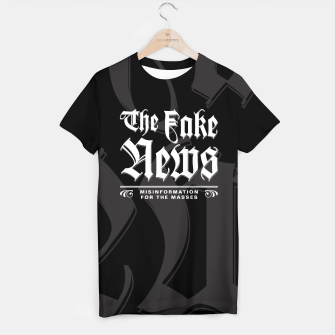 Thumbnail image of The Fake News Header T-shirt, Live Heroes