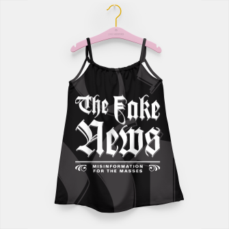 Thumbnail image of The Fake News Header Girl's Dress, Live Heroes