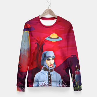Thumbnail image of Another earth Fitted Waist Sweater, Live Heroes