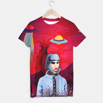 Thumbnail image of Another earth T-shirt, Live Heroes