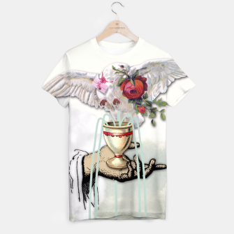 Thumbnail image of ACE OF CUPS TAROT CARD T-shirt, Live Heroes