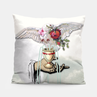 Thumbnail image of ACE OF CUPS TAROT CARD Pillow, Live Heroes