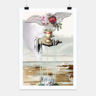 Thumbnail image of ACE OF CUPS TAROT CARD Poster, Live Heroes