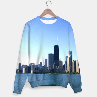 Thumbnail image of Chicago Skyline Men's Sweater, Live Heroes