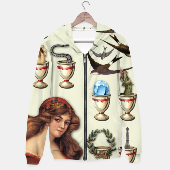 Thumbnail image of SEVEN OF CUPS TAROT CARD  Hoodie, Live Heroes