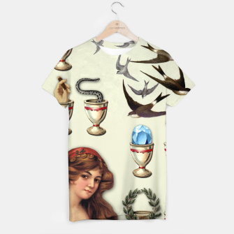 Thumbnail image of SEVEN OF CUPS TAROT CARD  T-shirt, Live Heroes