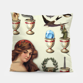 Thumbnail image of SEVEN OF CUPS TAROT CARD  Pillow, Live Heroes