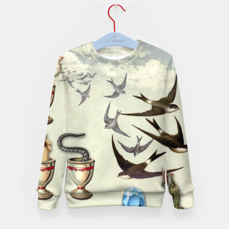 Thumbnail image of SEVEN OF CUPS TAROT CARD  Kid's Sweater, Live Heroes