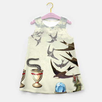 Thumbnail image of SEVEN OF CUPS TAROT CARD  Girl's Summer Dress, Live Heroes