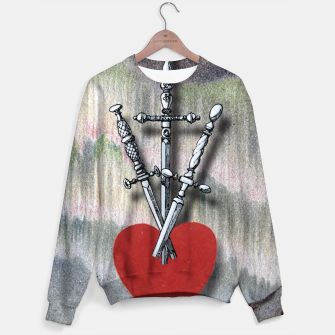Thumbnail image of TREE OF SWORDS Sweater, Live Heroes