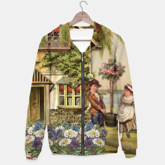 Thumbnail image of SIX OF CUPS TAROT CARD  Hoodie, Live Heroes