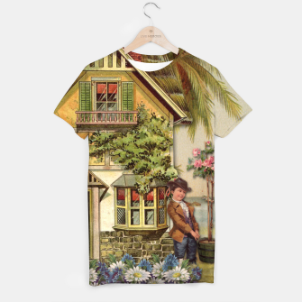 Thumbnail image of SIX OF CUPS TAROT CARD  T-shirt, Live Heroes
