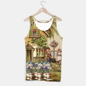 Thumbnail image of SIX OF CUPS TAROT CARD  Tank Top, Live Heroes