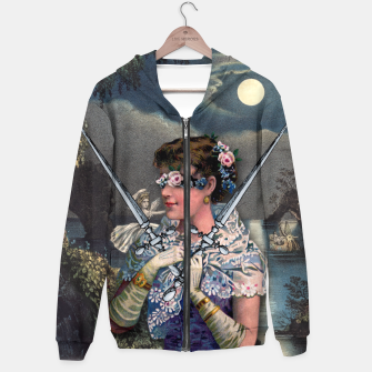 Thumbnail image of TWO OF SWORDS TAROT CARD  Hoodie, Live Heroes