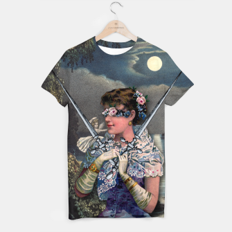 Thumbnail image of TWO OF SWORDS TAROT CARD  T-shirt, Live Heroes