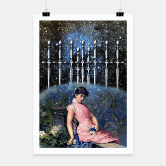 Thumbnail image of NINE OF SWORDS TAROT CARD  Poster, Live Heroes