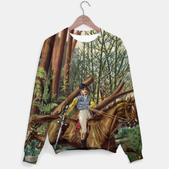 Thumbnail image of KNIGHT OF SWORDS TAROT CARD  Sweater, Live Heroes