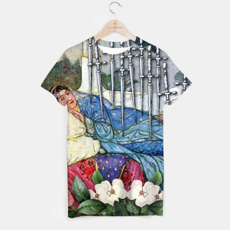 Miniature de image de TEN OF SWORDS TAROT CARD T-shirt, Live Heroes