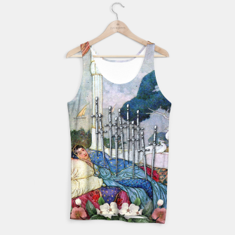 Miniature de image de TEN OF SWORDS TAROT CARD Tank Top, Live Heroes