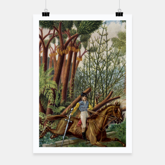 Thumbnail image of KNIGHT OF SWORDS TAROT CARD  Poster, Live Heroes