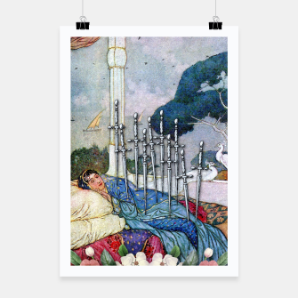 Thumbnail image of TEN OF SWORDS TAROT CARD Poster, Live Heroes