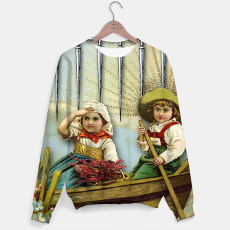 Miniature de image de SIX OF SWORDS TAROT CARD  Sweater, Live Heroes