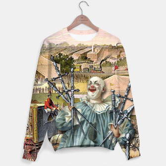 Thumbnail image of SEVEN OF SWORDS Sweater, Live Heroes