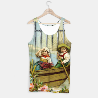 Thumbnail image of SIX OF SWORDS TAROT CARD  Tank Top, Live Heroes
