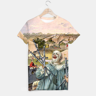 Thumbnail image of SEVEN OF SWORDS T-shirt, Live Heroes