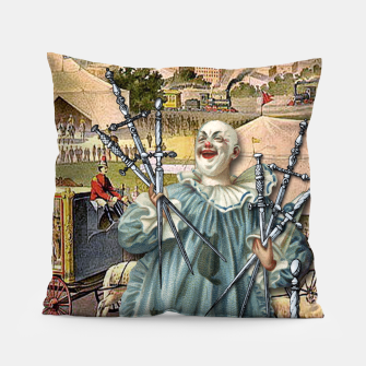 Thumbnail image of SEVEN OF SWORDS Pillow, Live Heroes