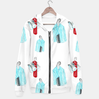 Thumbnail image of Vetements__Fashion Illustration Hoodie, Live Heroes