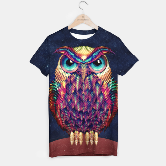 Thumbnail image of Owl 2 T-shirt, Live Heroes