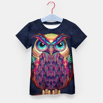 Thumbnail image of Owl 2 Kid's T-shirt, Live Heroes