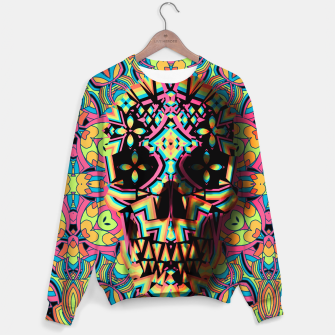 Thumbnail image of Skull Geo Sweater, Live Heroes