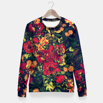 Thumbnail image of Vivid Jungle Fitted Waist Sweater, Live Heroes