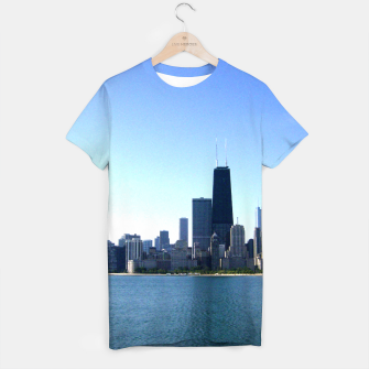 Thumbnail image of Chicago Skyline Men's Tee, Live Heroes