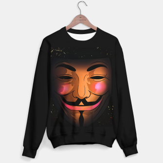 Thumbnail image of Vforvendetta Sweater regular, Live Heroes
