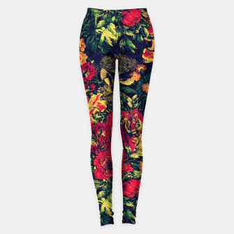 Thumbnail image of Vivid Jungle Leggings, Live Heroes