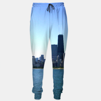 Thumbnail image of Chicago Skyline Sweatpants, Live Heroes