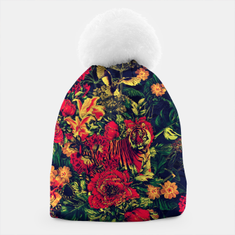 Thumbnail image of Vivid Jungle Beanie, Live Heroes