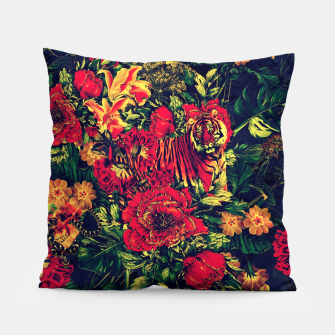 Thumbnail image of Vivid Jungle Pillow, Live Heroes