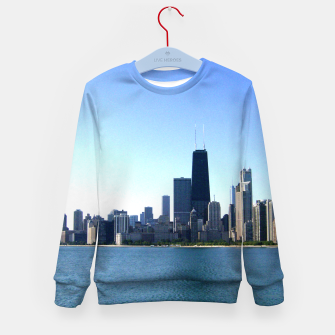 Thumbnail image of Chicago Skyline Kid's Sweater, Live Heroes