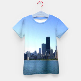 Thumbnail image of Chicago Skyline Child's Tee, Live Heroes