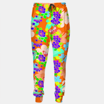 Thumbnail image of Abstract Flowers & Butterflies  Sweatpants, Live Heroes