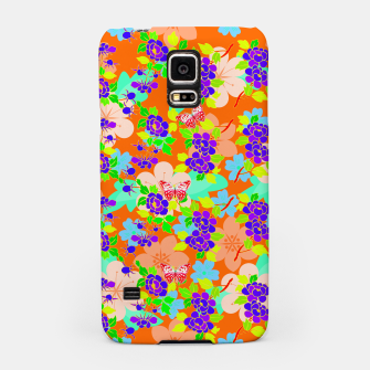 Thumbnail image of Abstract Flowers & Butterflies  Samsung Case, Live Heroes