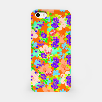 Thumbnail image of Abstract Flowers & Butterflies  iPhone Case, Live Heroes