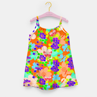 Thumbnail image of Abstract Flowers & Butterflies  Girl's Dress, Live Heroes
